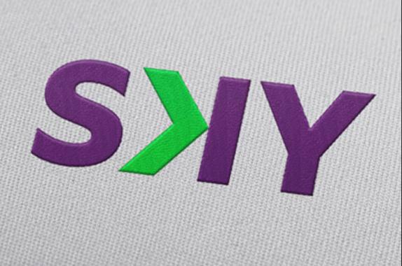 Sky航空公司新品牌logo